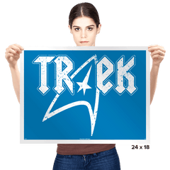 TREK - Prints - Posters - RIPT Apparel
