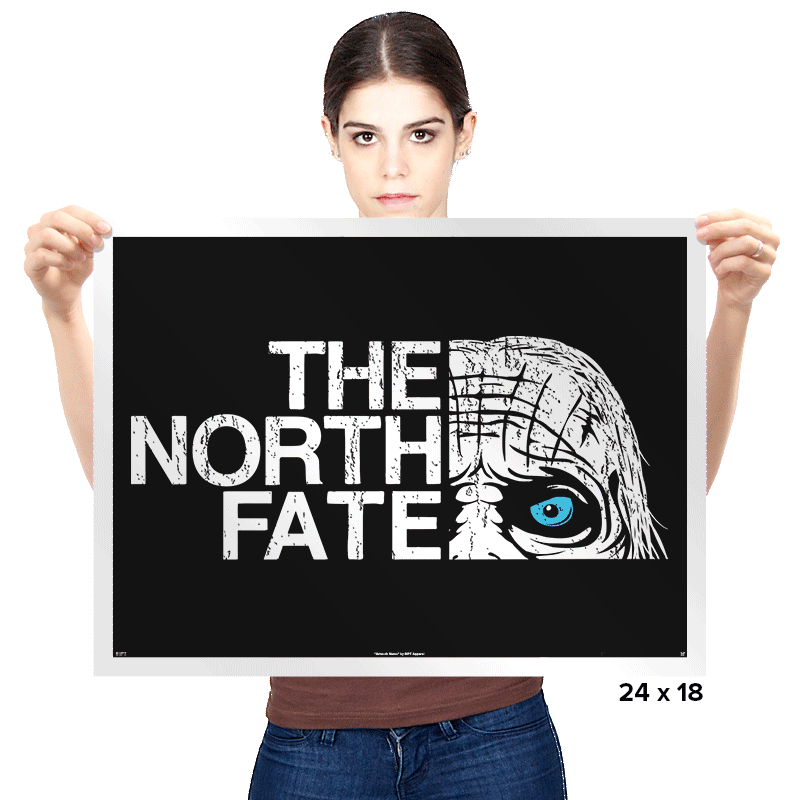 The North Fate - Prints - Posters - RIPT Apparel
