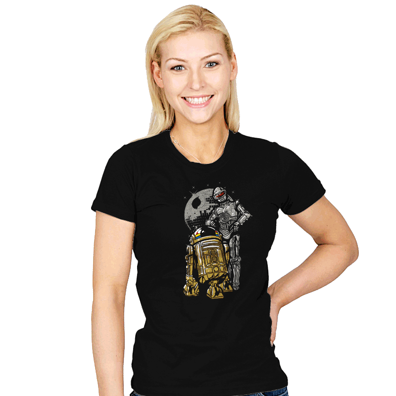Daft Droids - Womens - T-Shirts - RIPT Apparel