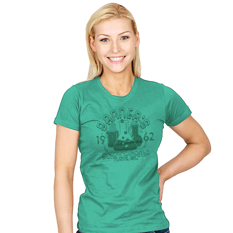Science Camp Exclusive - Womens - T-Shirts - RIPT Apparel