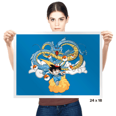 Poke'ball Z - Prints - Posters - RIPT Apparel