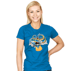 Poke'ball Z - Womens - T-Shirts - RIPT Apparel