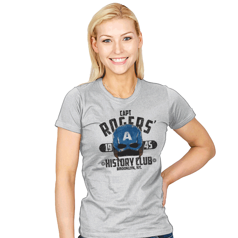 History Club Exclusive - Womens - T-Shirts - RIPT Apparel