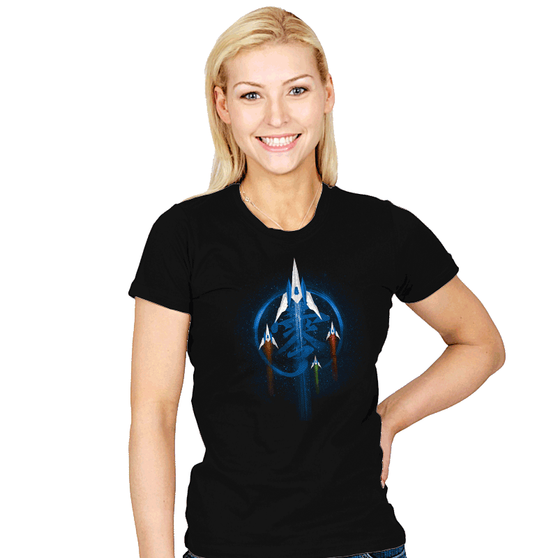 Fox Team Zero - Womens - T-Shirts - RIPT Apparel