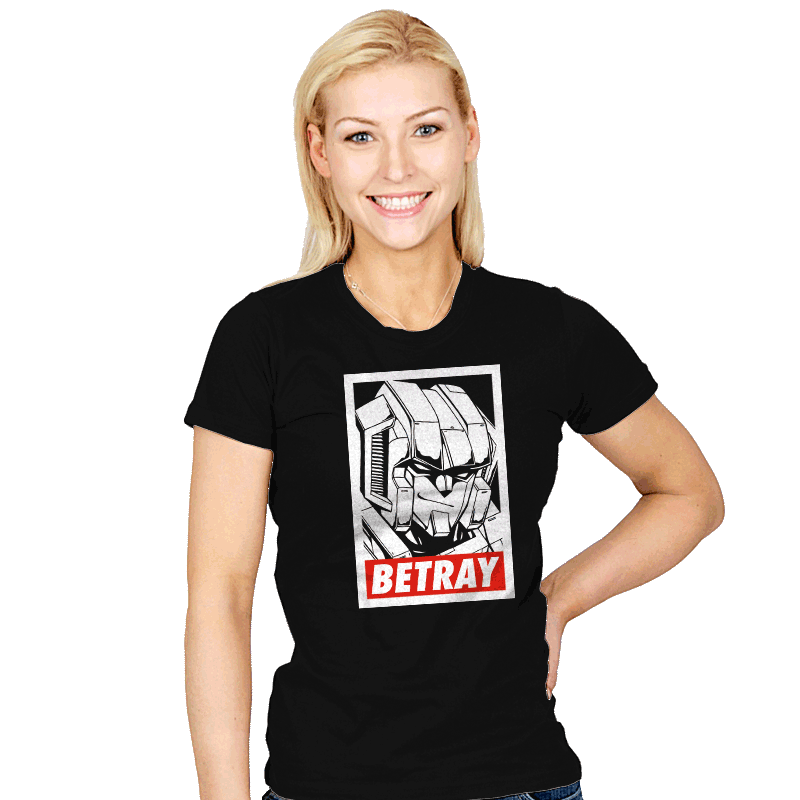 Betray - Womens - T-Shirts - RIPT Apparel