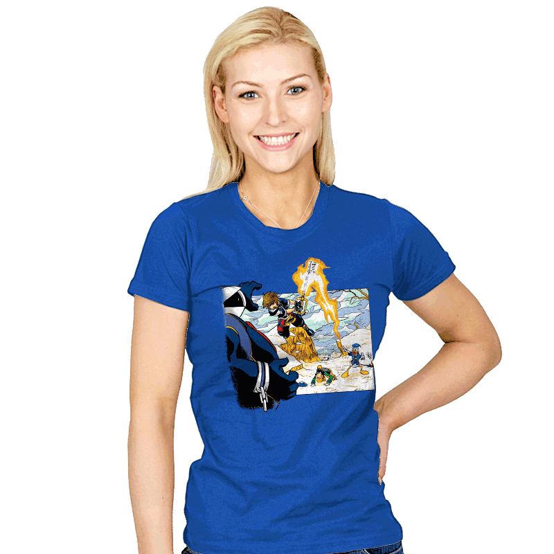 Chrono Hearts - Womens - T-Shirts - RIPT Apparel
