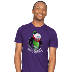 Why so Saurus? - Mens - T-Shirts - RIPT Apparel