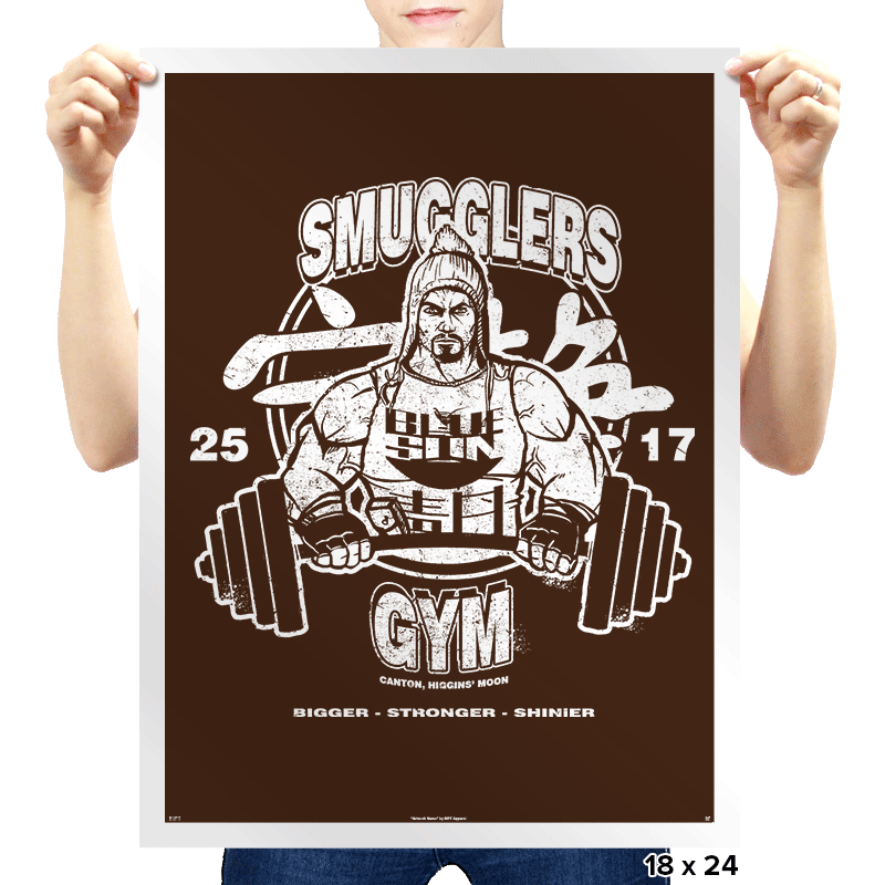 Smugglers Gym - Prints - Posters - RIPT Apparel