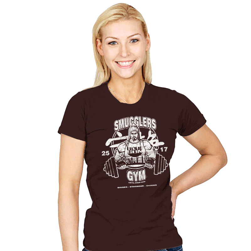 Smugglers Gym - Womens - T-Shirts - RIPT Apparel