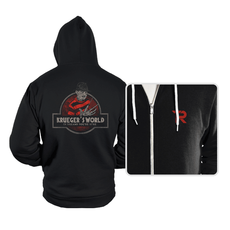 Krueger's World - Hoodies - Hoodies - RIPT Apparel