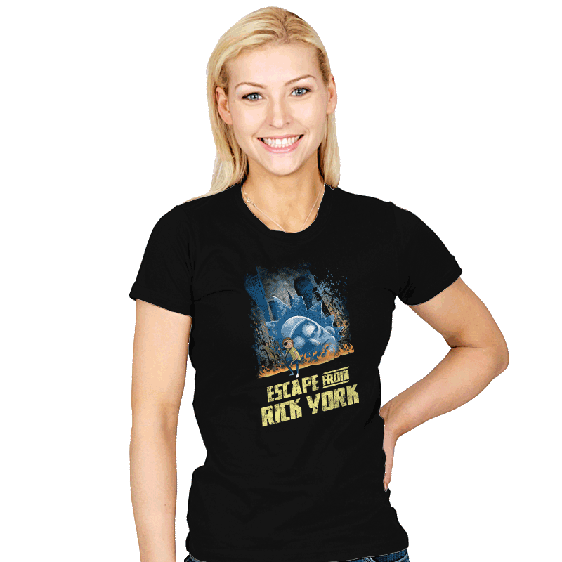 Escape from Rick York - Womens - T-Shirts - RIPT Apparel