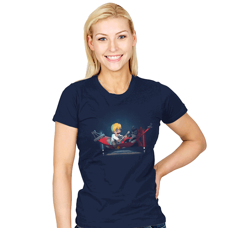 Aloha Jedi - Womens - T-Shirts - RIPT Apparel
