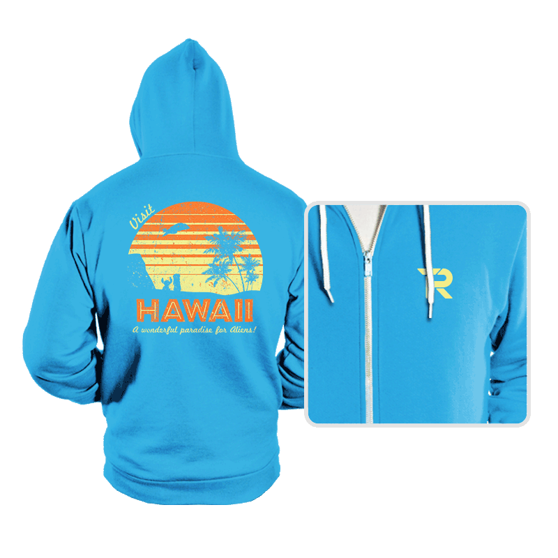 Visit Hawaii - Hoodies - Hoodies - RIPT Apparel