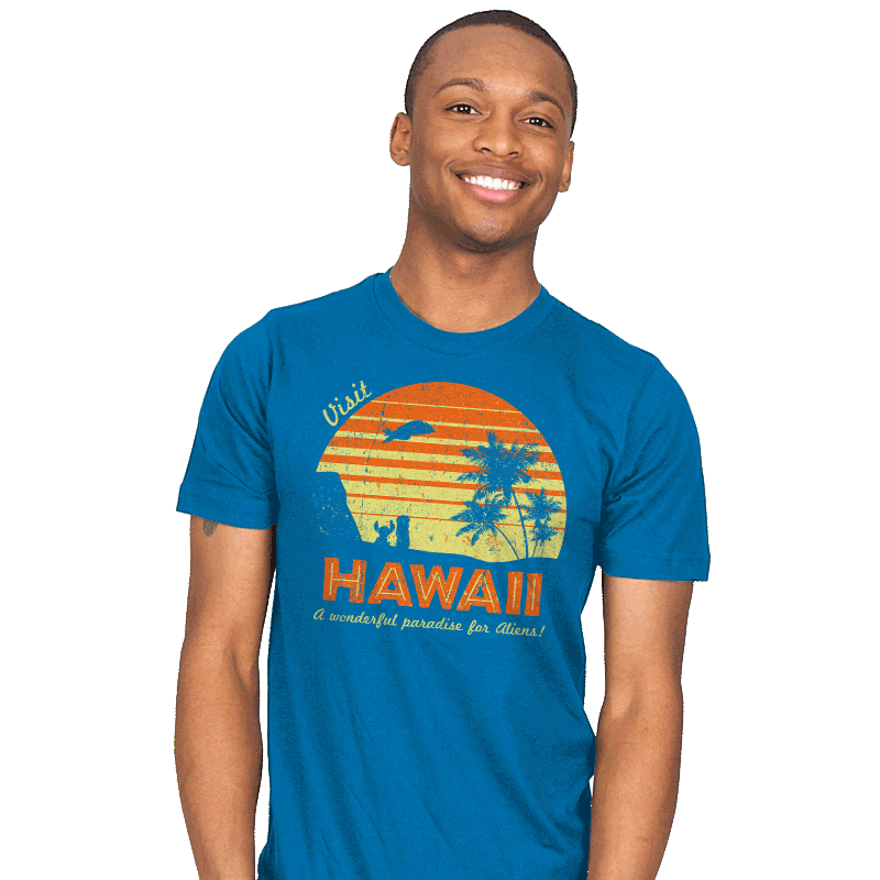 Visit Hawaii - Mens - T-Shirts - RIPT Apparel