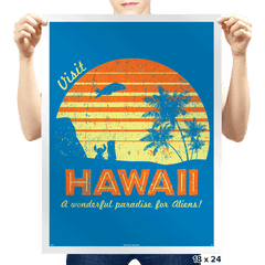 Visit Hawaii - Prints - Posters - RIPT Apparel