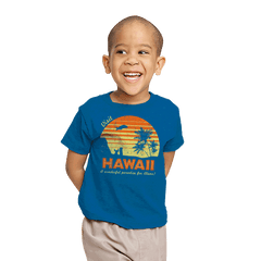Visit Hawaii - Youth - T-Shirts - RIPT Apparel