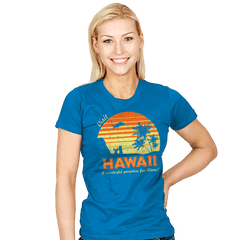 Visit Hawaii - Womens - T-Shirts - RIPT Apparel