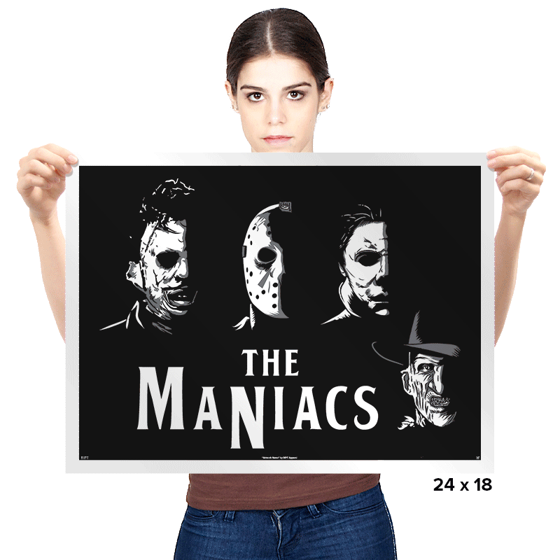 The Maniacs - Prints - Posters - RIPT Apparel