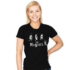 The Maniacs - Womens - T-Shirts - RIPT Apparel
