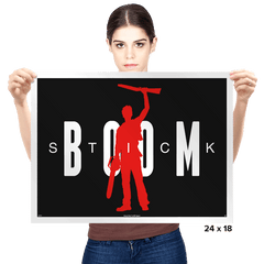 Boom Stick - Prints - Posters - RIPT Apparel