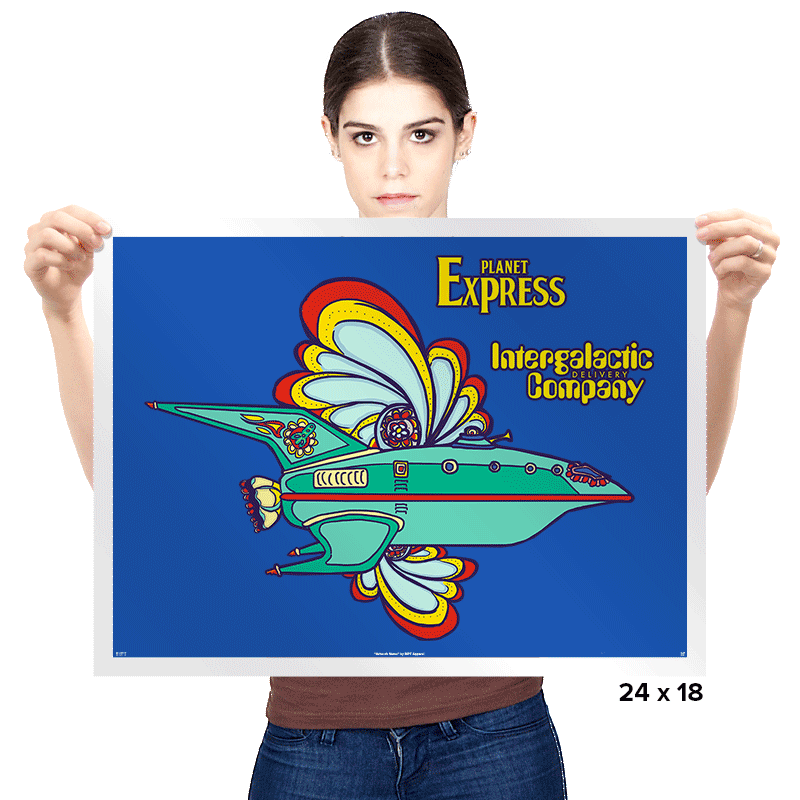 Intergalactic Delivery Company - Prints - Posters - RIPT Apparel