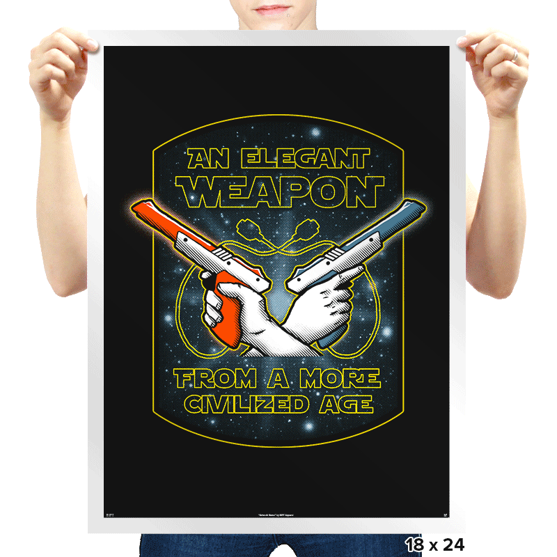 Elegant Weapon - Prints - Posters - RIPT Apparel