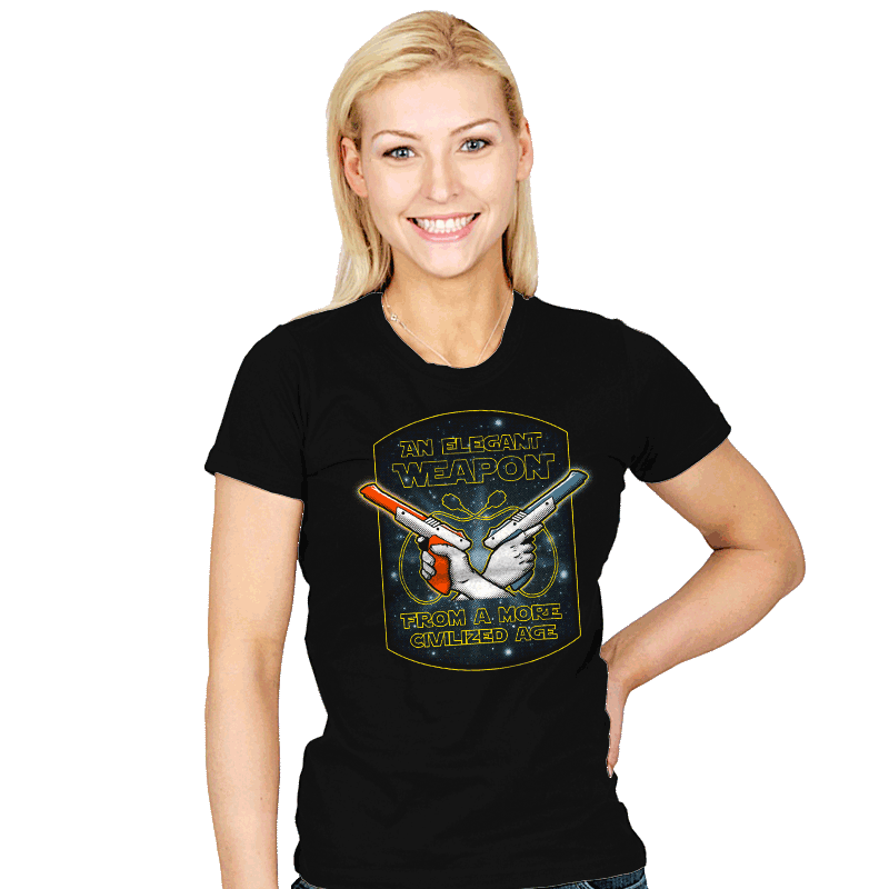 Elegant Weapon - Womens - T-Shirts - RIPT Apparel