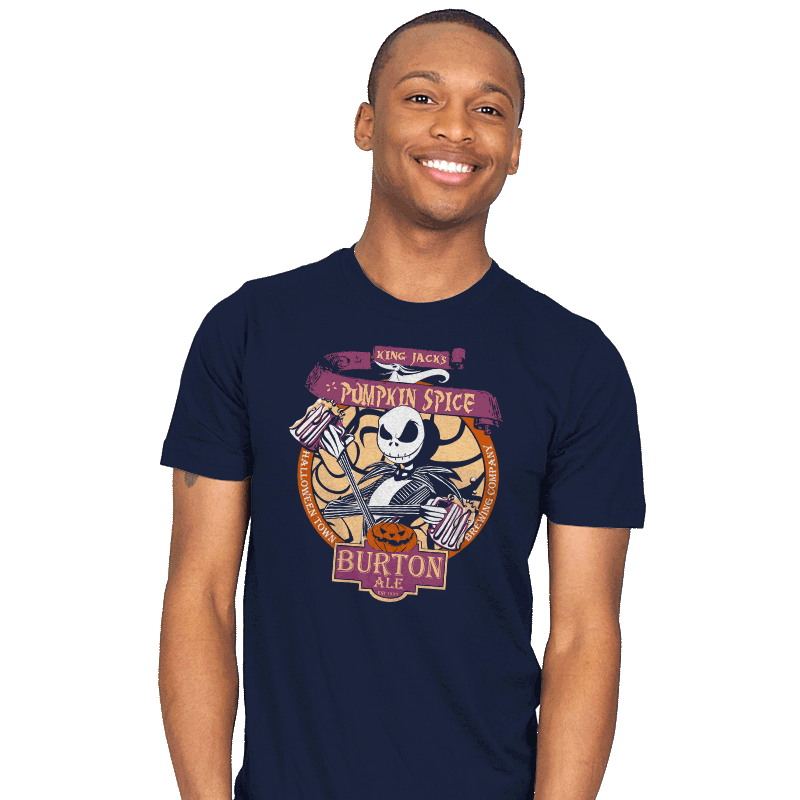 Pumpkin King Ale - Mens - T-Shirts - RIPT Apparel