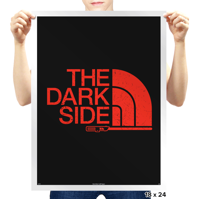 The Dark Side - Prints - Posters - RIPT Apparel