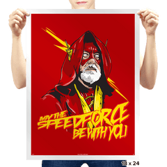 Use the Speed Force - Prints - Posters - RIPT Apparel