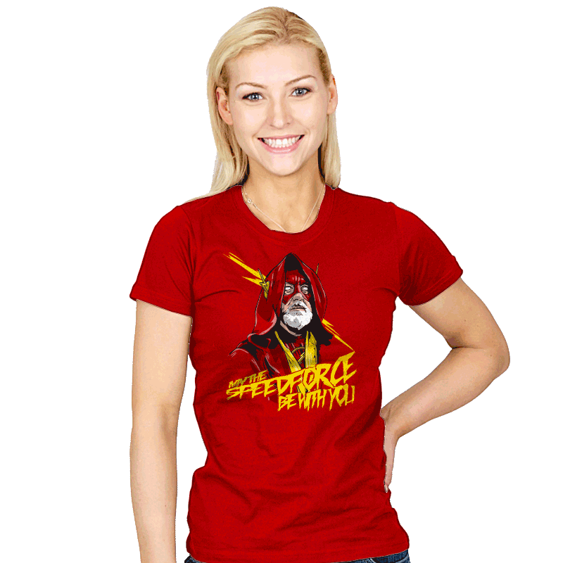Use the Speed Force - Womens - T-Shirts - RIPT Apparel