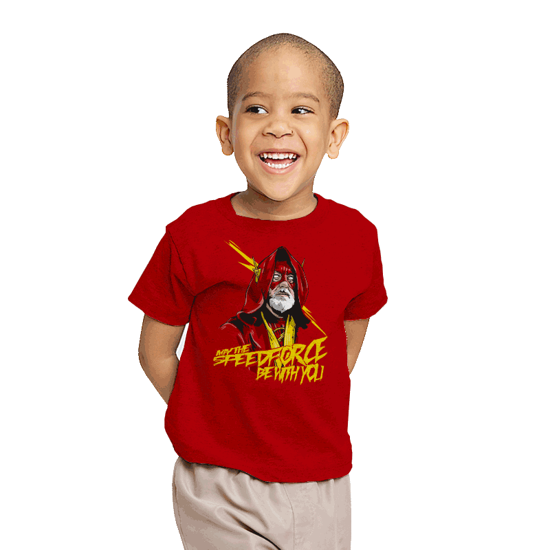 Use the Speed Force - Youth - T-Shirts - RIPT Apparel