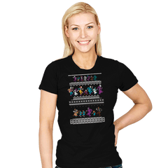 Monster Holiday Sweater - Womens - T-Shirts - RIPT Apparel