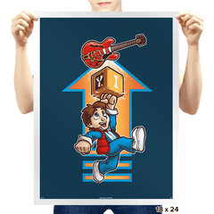 Super Future Bros. - Prints - Posters - RIPT Apparel