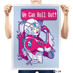 We Can Roll Out! - Prints - Posters - RIPT Apparel