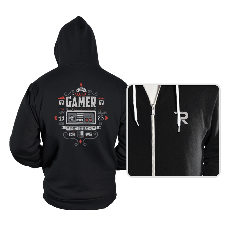 Classic Gamer - Hoodies - Hoodies - RIPT Apparel