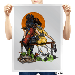 Little Ninjas - Prints - Posters - RIPT Apparel