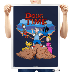 Doug Time - Prints - Posters - RIPT Apparel