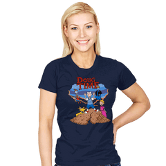 Doug Time - Womens - T-Shirts - RIPT Apparel
