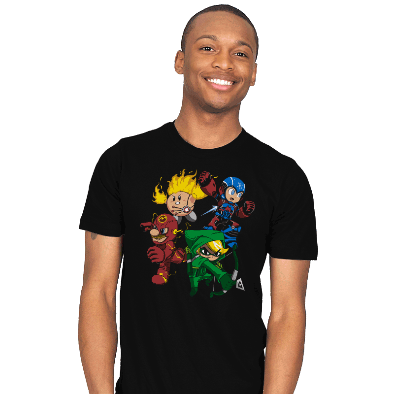 City Smash Bros. - Mens - T-Shirts - RIPT Apparel