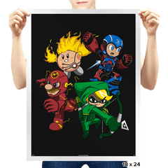 City Smash Bros. - Prints - Posters - RIPT Apparel