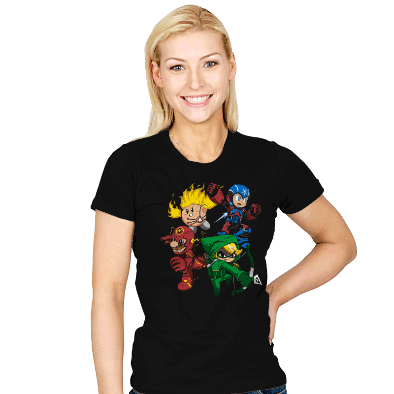 City Smash Bros. - Womens - T-Shirts - RIPT Apparel