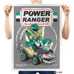 Pow-Pow-Power Exclusive - Prints - Posters - RIPT Apparel