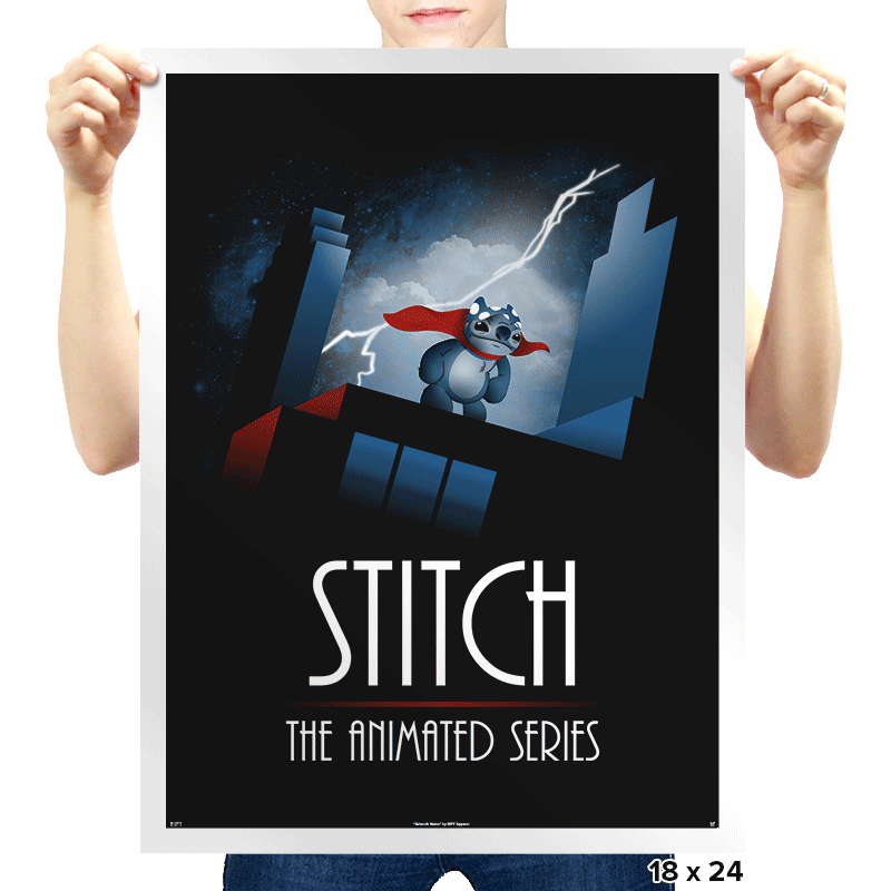 Stitch - The Animated Series Exclusive - Prints - Posters - RIPT Apparel