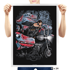 Jurassic Dead Exclusive - Prints - Posters - RIPT Apparel