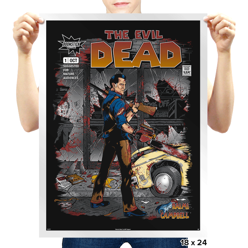 The Evil Dead - Issue 1 Exclusive - Prints - Posters - RIPT Apparel