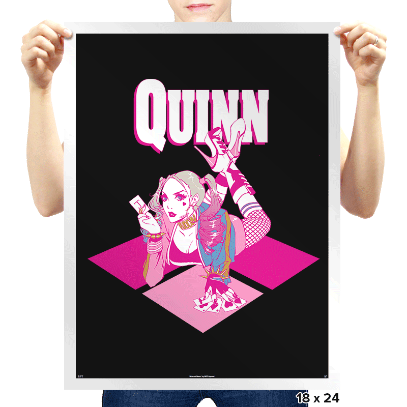 Quinn Fiction - Prints - Posters - RIPT Apparel