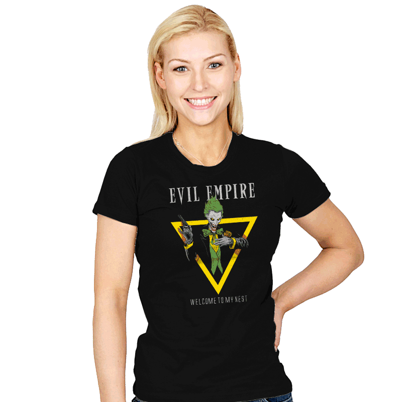 Welcome To My Nest - Womens - T-Shirts - RIPT Apparel