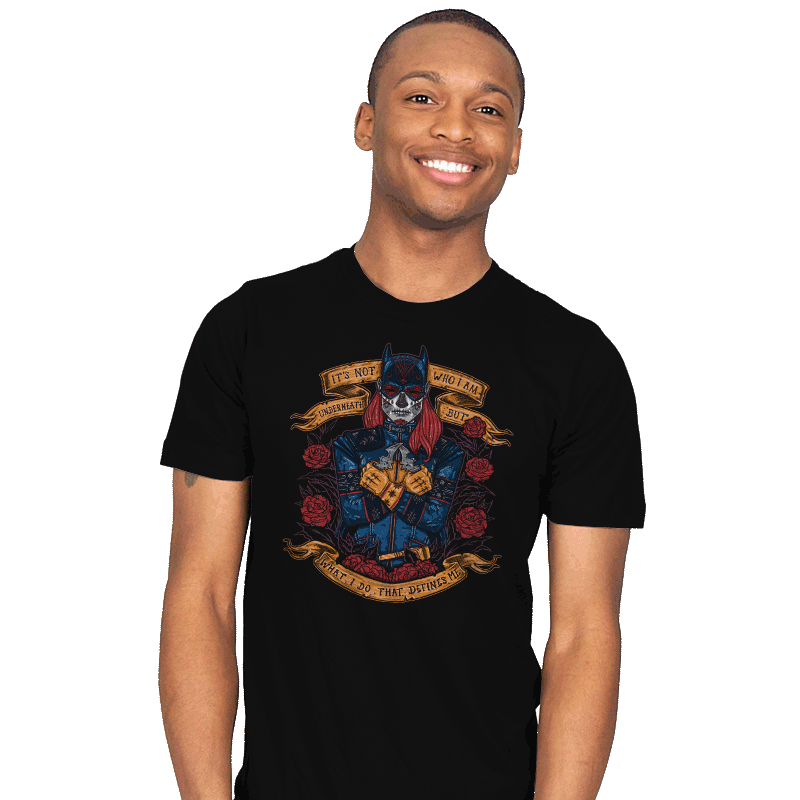 Day of the Dead Heroine - Mens - T-Shirts - RIPT Apparel
