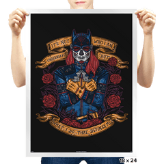 Day of the Dead Heroine - Prints - Posters - RIPT Apparel